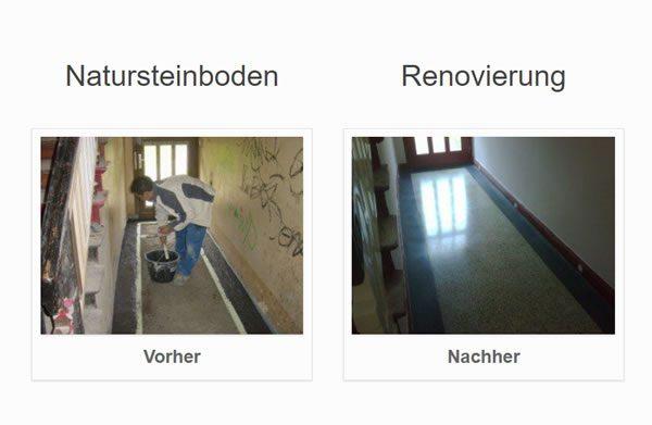 Natursteinboden Renovierung für 46535 Dinslaken
