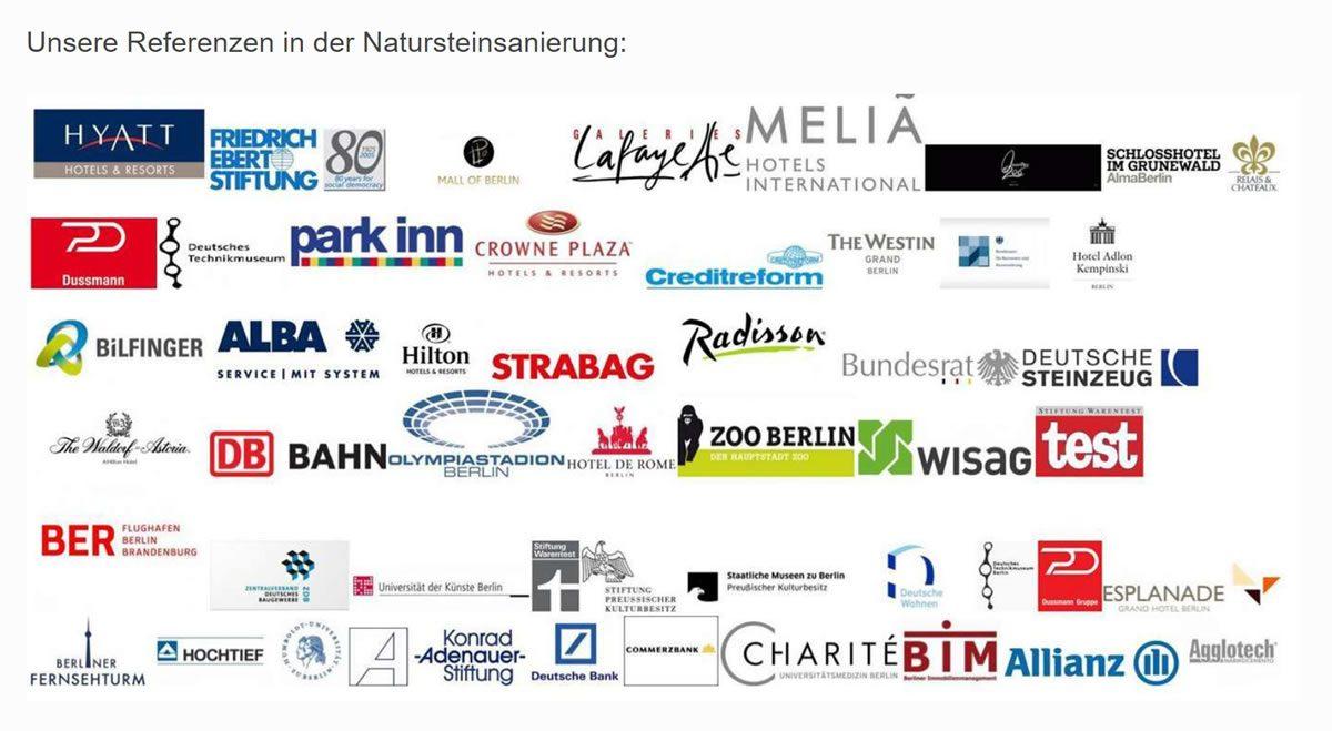 Natursteinsanierung Referenzen aus  Mannheim