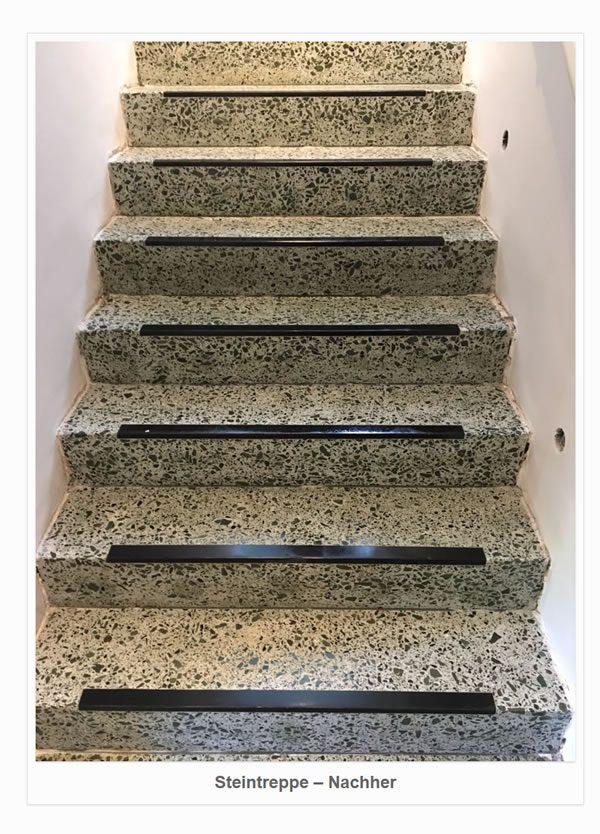 Steintreppen Renovierung für  Gleichen